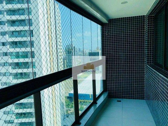 Apartamento com 3 dormitórios para alugar, 81 m² por R$ 3.500/mês - Boa Viagem - Recife/PE - Foto 13