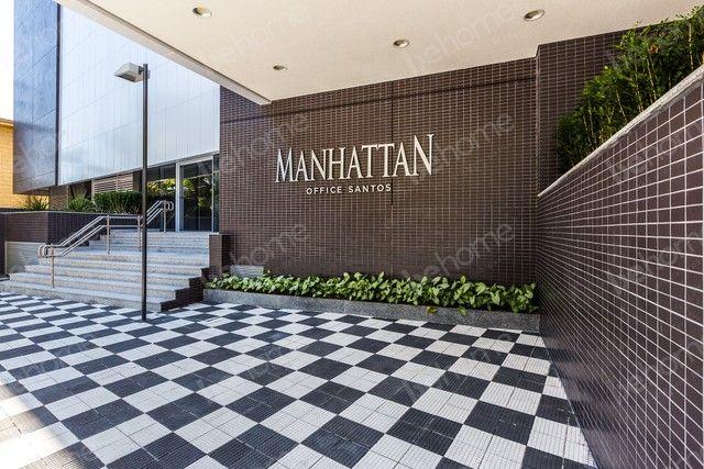 Fantástica sala comercial em Santos - Manhattan Santos - Foto 9