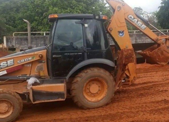 Retro Escavadeira Case 580N<br><br> - Foto 4