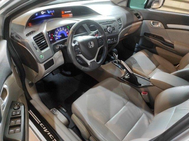 New Civic Lxr 2.0 Flex 2014 (Financia 100%)-Vendo,Troco ou Financio - Foto 12