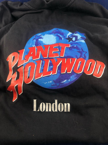 Antiga camisa Feminina Planet Hollywood