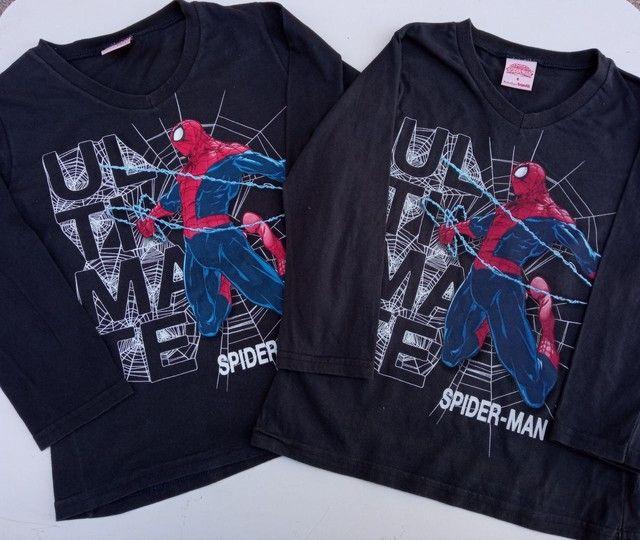 Lote de camisetas Tam 6 - Foto 4