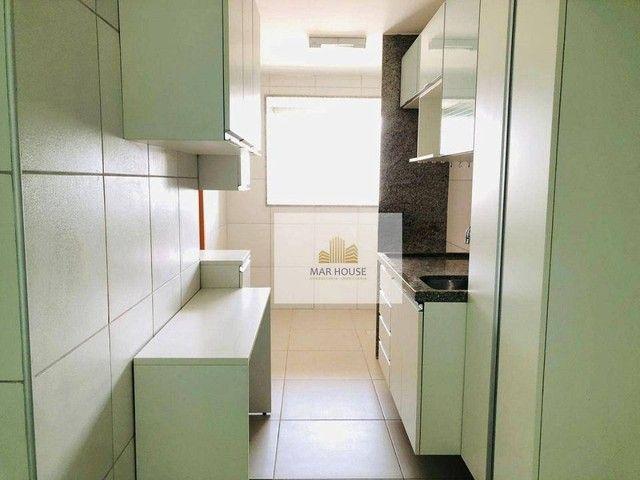 Apartamento com 3 dormitórios para alugar, 81 m² por R$ 3.500/mês - Boa Viagem - Recife/PE - Foto 15