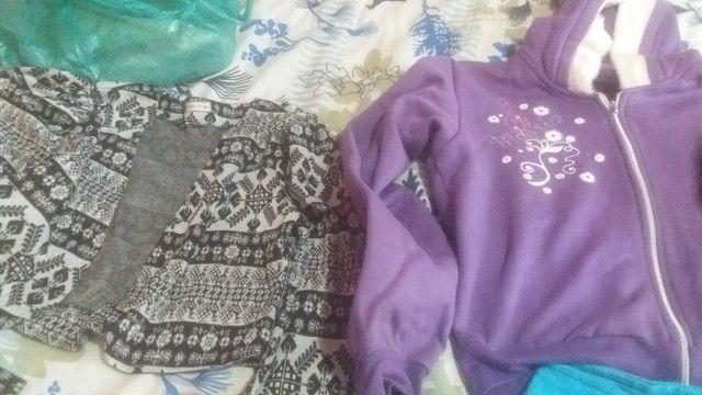 Lotinho de blusas de frio femeninas  - Foto 2