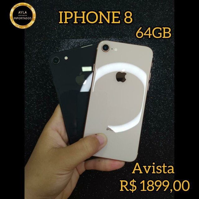 iPhone 8 ( 12 vezes sem juros)