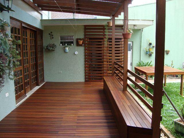 cerca para jardim vertical:Deck, Deck de Madeira, Pergolado, Jardim Vertical, Treliça de Madeira