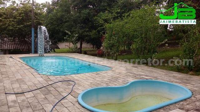 Belo sítio com 2 piscinas e 4 suítes em Vale das Pedrinhas - Foto 18