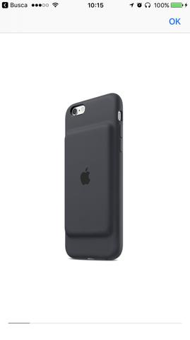 Case com Bateria Origina Apple 6/6s