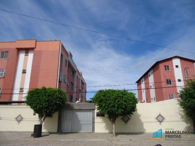 Apartamento residencial à venda, Icaraí, Caucaia - AP1187.
