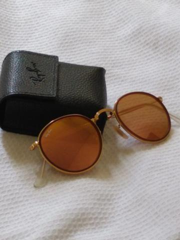 Óculos Ray-Ban round dobrável original - Bijouterias, relógios e ... 8e53712efc