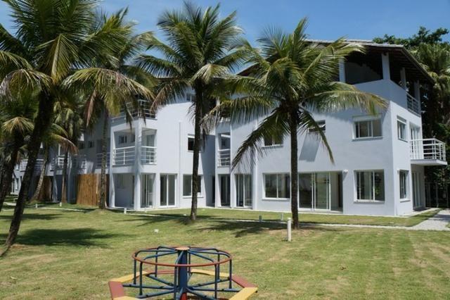 Casa de frente para o mar, em residencial na Praia da Sununga, 4 suites