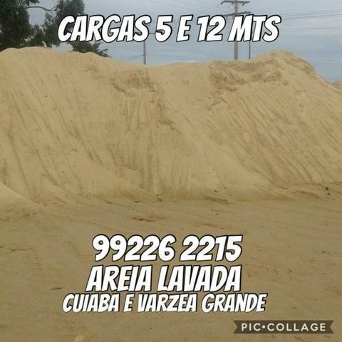 Areia Lavada - Entrega Imediata - Aceitamos Cartoes