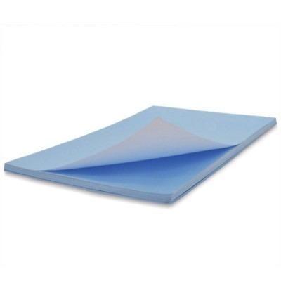 Papel sublimatico fundo azul, pacote com 100 folhas - Foto 3