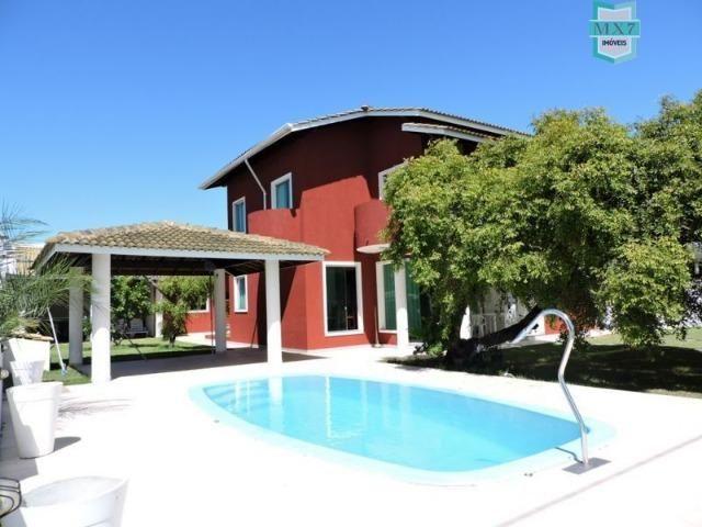 Casa em Barra do Jacuípe próximo a praia com seis amplos quartos