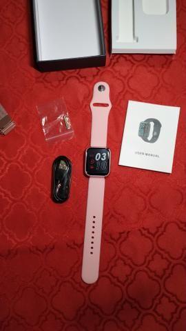 Smartwatch com pulseira de brinde - Foto 4