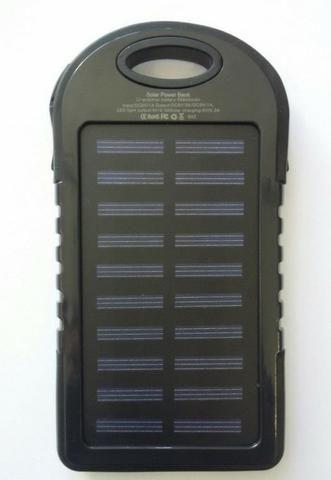 Carregador portátil para celular - Com bateria solar - Foto 6