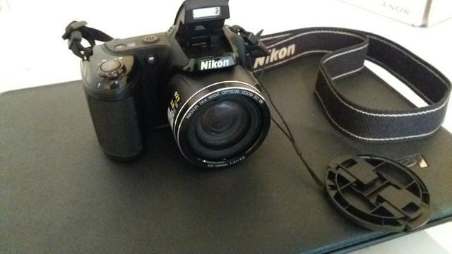 Câmera nikon coolpix L810semi profissional - Foto 2