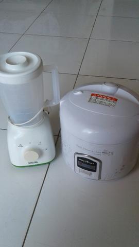 Liquidificador+panela elétrica