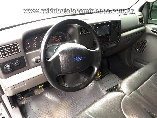 Ford F-250 XLT W20 MWM Seis Cilindros Cab. Dupla de Fábrica Impecável ! - Foto 9