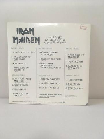 Álbum triplo do Iron Maiden vinil - Foto 2