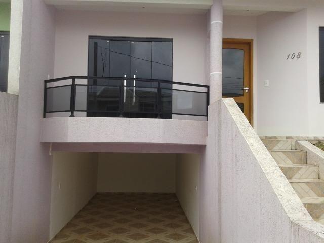 Casa nova com 120 m² de área construída - Bairro Botiatuva (antiga Lorenzetti) Campo Largo - Foto 3
