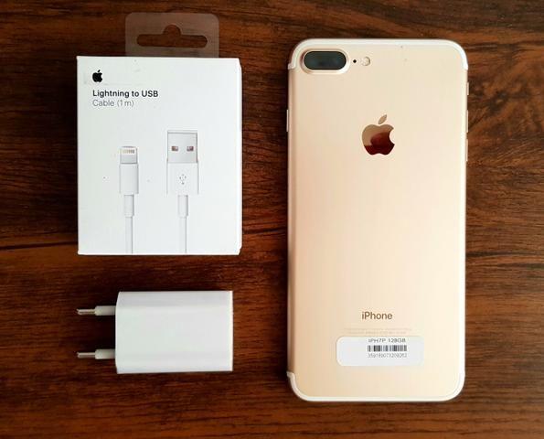 IPhone 7 Plus 128Gb Semi-novo 1 mês de garantia. Aceitamos cartões!!