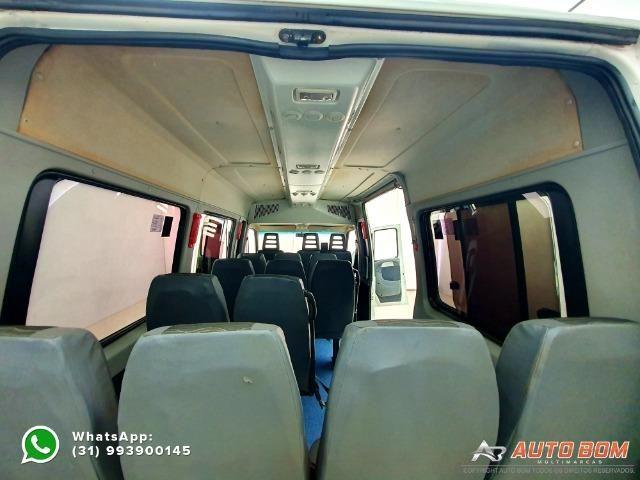 Fiat Ducato Minibus MultiJet Teto Alto 15 Lugares! Impecável! Completa! 2.3 16V 127CV - Foto 15