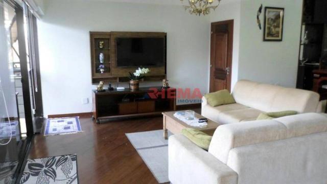 Apartamento com 3 dormitórios à venda, 180 m² por R$ 925.000,00 - Gonzaga - Santos/SP - Foto 2