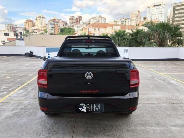 VW Saveiro CD 1.6 Pepper - Completa 5 Lugares - 2018 - Foto 5
