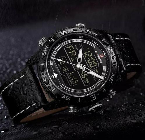 358c0335aed Relógio de luxo naviforce 180 - Bijouterias