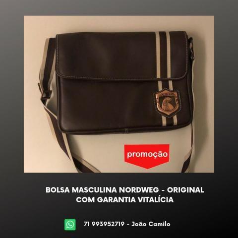 08b292e4fa64c Bolsa Masculina Nordweg - Garantia Vitalícia - Bolsas, malas e ...