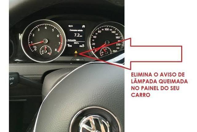 Evite Avarias no painel do seu carro. Canceller meia luz pingo - Foto 3