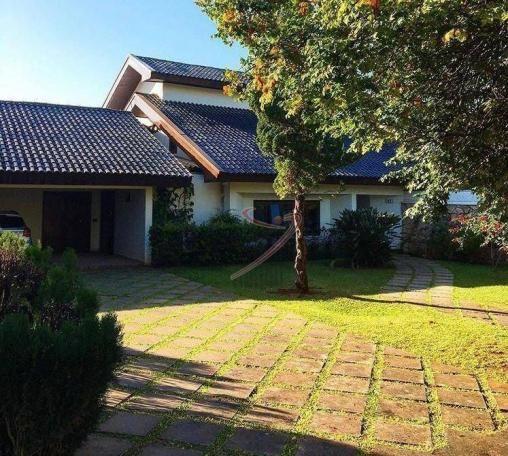 Sobrado com 5 dormitórios à venda, 470 m² por R$ 1.900.000,00 - Lago dos Cisnes - Foz do I - Foto 3