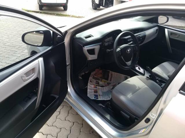 Toyota Corolla Gli 1.8 automatico ano 2015 - Foto 9