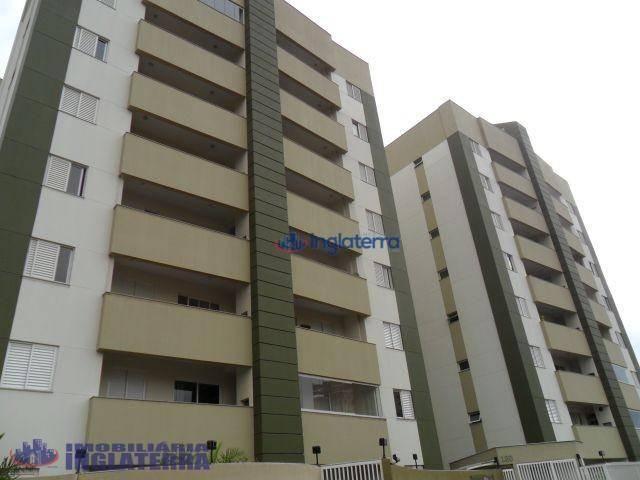 Apartamento com 3 dormitórios à venda, 75 m² por R$ 295.000 - Vale dos Tucanos - Londrina/ - Foto 3