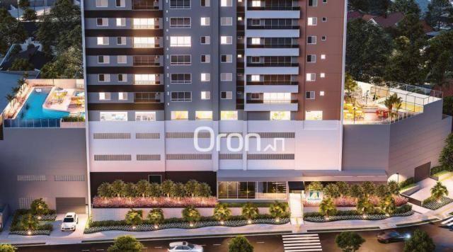 Apartamento com 3 dormitórios à venda, 87 m² por R$ 405.000,00 - Setor Pedro Ludovico - Go - Foto 4