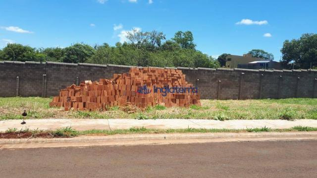 Terreno à venda, 250 m² por R$ 160.000,00 - Monte Belo - Londrina/PR
