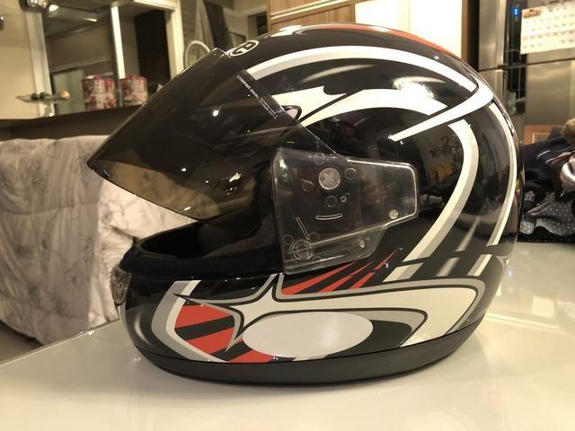 Jaqueta para moto feminina e capacete - Foto 6