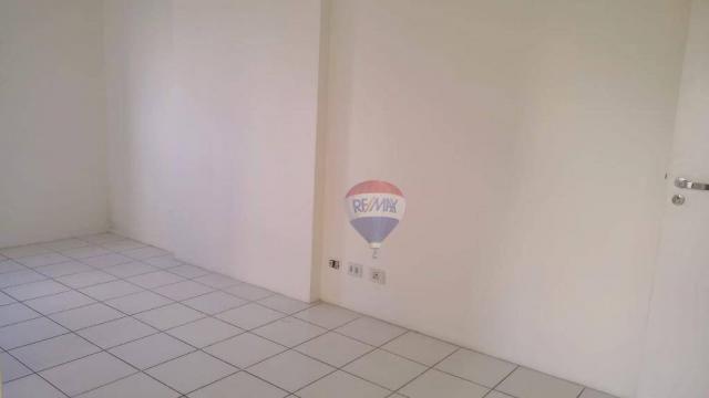 Flat com 1 dormitório para alugar, 38 m² - Poço - Recife/PE - Foto 3