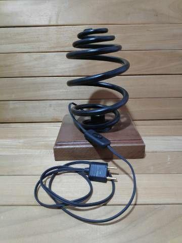 Luminária de mola de carro rústica - Foto 3