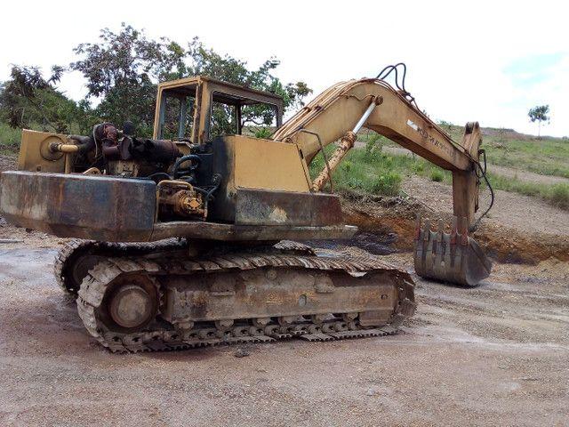 Escavadeira hidraulica pc 150