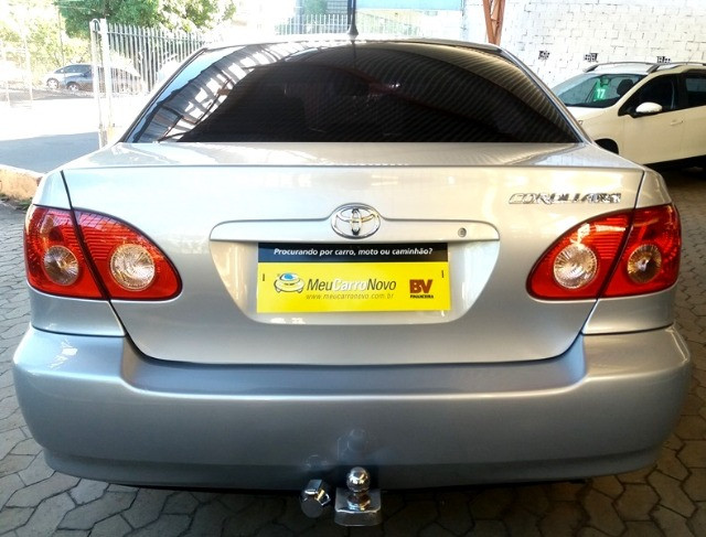 Corolla XEI 1.8 Automático 2006 prata, completo, impecável - Foto 4