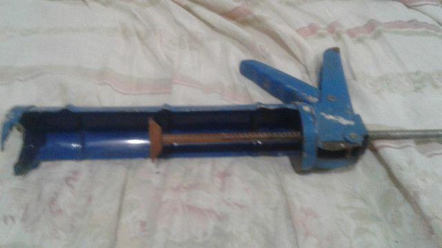 Pistola de aplicada de bisnagas