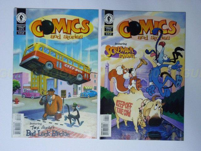 Comics and Stories - Tex Avery - Lote De 4 Revistas - Droopy - Foto 2