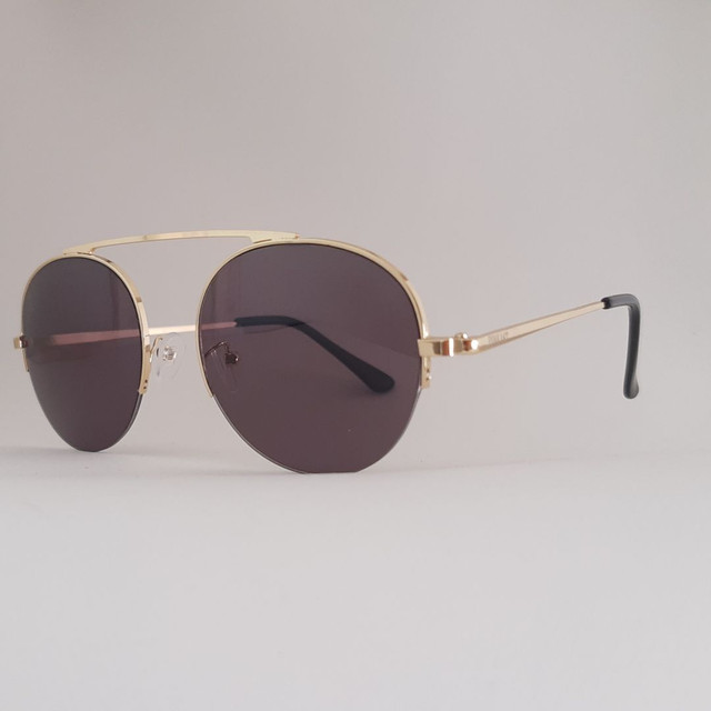Óculos de Sol dourado com Proteção - Foto 2