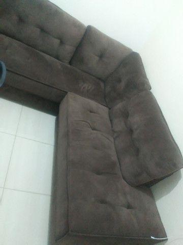 Sofá novo em ótimo estado - Foto 2