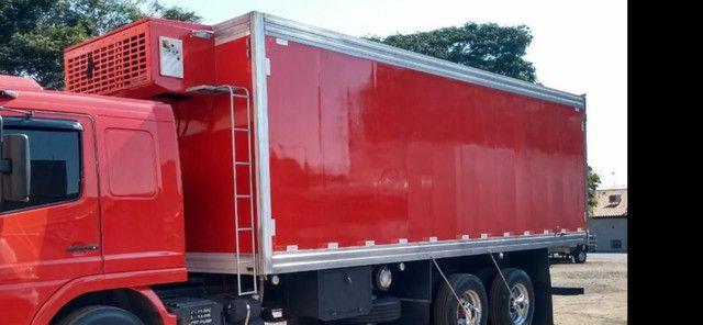 Baú frigorífico 7.50m motor a diesel - Foto 17