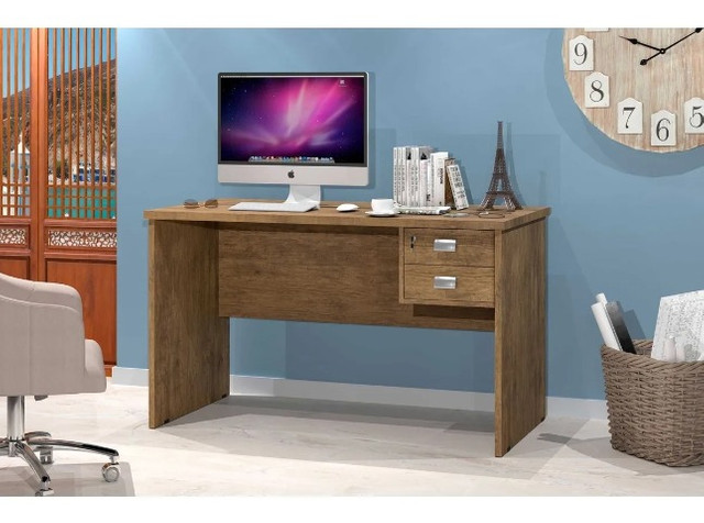 Escrivaninha/ Mesa de Computador Taurus / 2 Gavetas - Foto 3