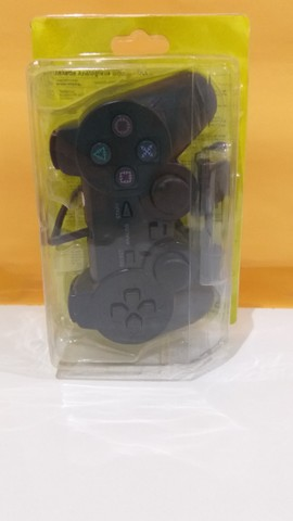 Controle Joystick Manete Playstation PS2 Com Fio - Foto 2