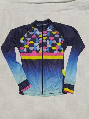 Camisa Camiseta Roupa Feminina Bike! MTB Esporte Bicicleta Ciclismo Dry Fit - Foto 2